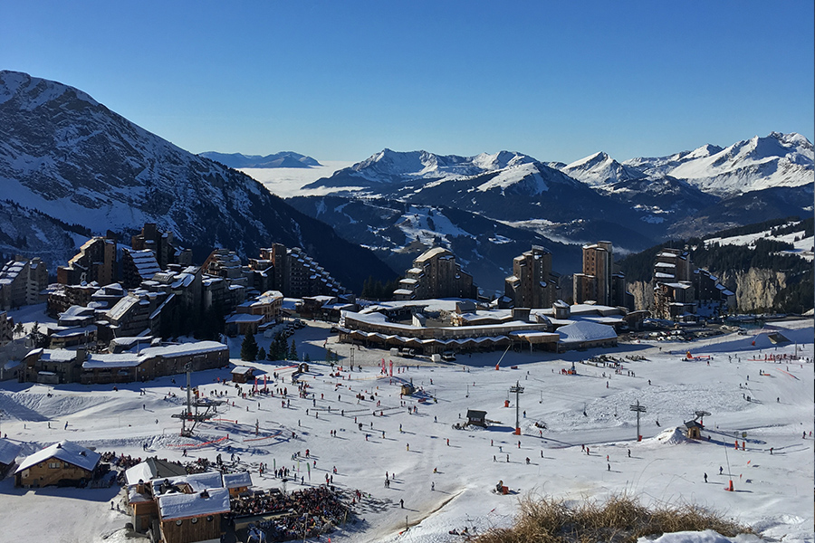 Avoriaz best family ski resort