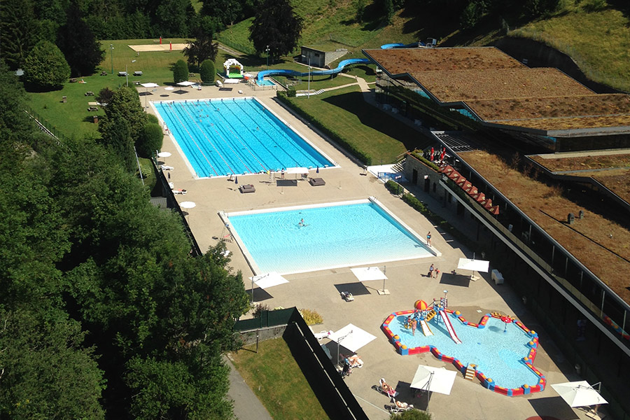 Summer Family Holiday in Morzine, Morzine outdoor pool