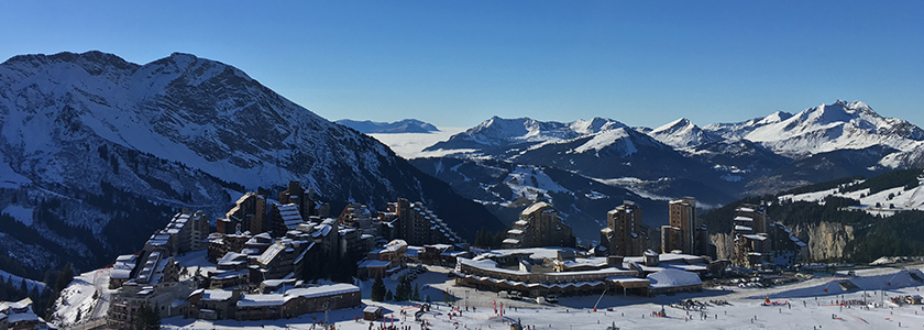 Winter in Avoriaz