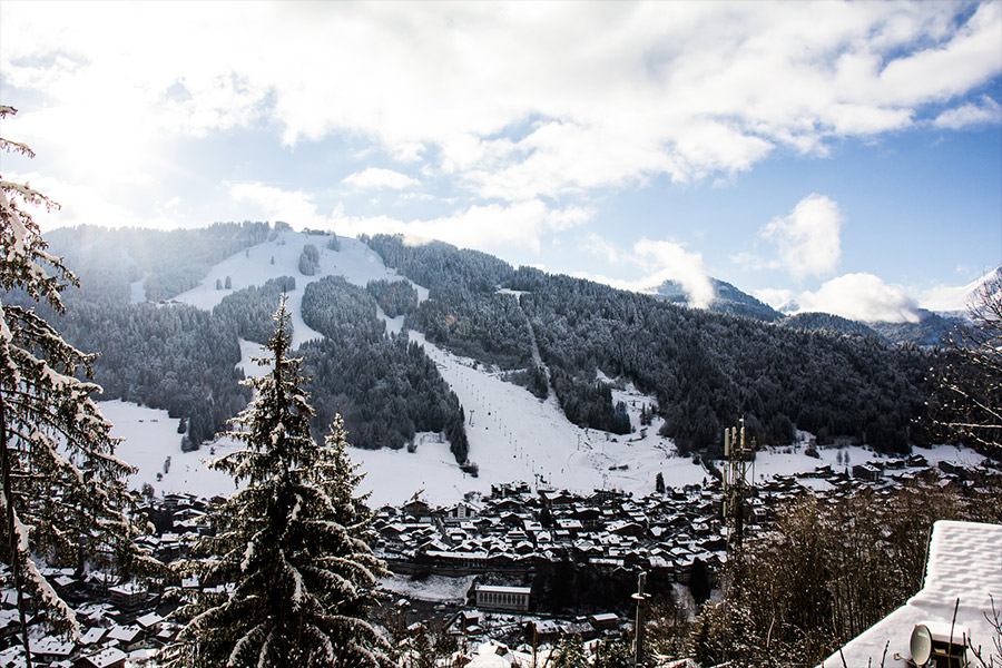 Winter in Morzine